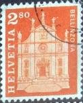 Sellos de Europa - Suiza -  Scott#399B intercambio, 0,40 usd, 280 cents. 1963