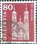 Stamps Switzerland -  Scott#394 intercambio, 0,20 usd, 80 cents. 1960