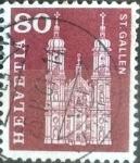 Sellos de Europa - Suiza -  Scott#394 intercambio, 0,20 usd, 80 cents. 1960