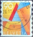 de Europa - Suiza -  Scott#1102 intercambio, 0,45 usd, 90 cents. 2001