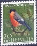 sello : Europa : Suiza : Scott#B379 intercambio, 0,20 usd, 20+10 cents. 1968