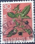 de Europa - Suiza -  Scott#B427 intercambio, 0,20 usd, 30+20 cents. 1974