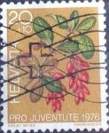 de Europa - Suiza -  Scott#B443 intercambio, 0,20 usd, 20+10 cents. 1976