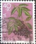 de Europa - Suiza -  Scott#B444 intercambio, 0,20 usd, 40+20 cents. 1976