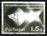 Sellos del Mundo : Europa : Portugal : Satellite Communications Station Network