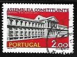 Sellos de Europa - Portugal -  Abertura de la Asamblea Constituyente