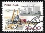 Sellos de Europa - Portugal -  Industria de la Construcción