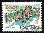 Stamps Portugal -  Palace Garden, Castelo Branco