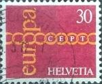 de Europa - Suiza -  Scott#531 intercambio, 0,20 usd, 30 cents. 1971