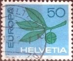 de Europa - Suiza -  Scott#469 intercambio, 0,25 usd, 50 cents. 1965
