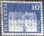 de Europa - Suiza -  Scott#441 intercambio, 0,20 usd, 10 cents. 1968