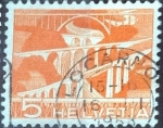 Stamps of the world : Switzerland :  Scott#329 intercambio, 0,20 usd, 5 cents. 1949