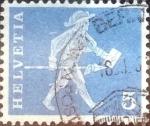 Sellos de Europa - Suiza -  Scott#382 intercambio, 0,20 usd, 5 cents. 1960