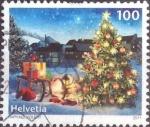 Sellos de Europa - Suiza -  Scott#1438 intercambio, 0,75 usd, 100 cents. 2011