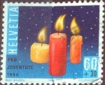 Stamps Switzerland -  Scott#B599 intercambio, 0,45 usd, 60+30 cents. 1994