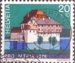 Sellos de Europa - Suiza -  Scott#B455 intercambio, 0,30 usd, 20+10 cents. 1978