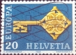 Sellos de Europa - Suiza -  Scott#488 intercambio, 0,20 usd, 20 cents. 1968