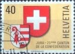 Sellos de Europa - Suiza -  Scott#666 intercambio, 0,35 usd, 40 cents. 1978