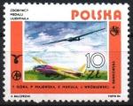 Stamps : Europe : Poland :  PLANEADOR  MODERNO
