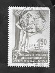 Sellos de America - Argentina -  554 - 25 Anivº de los Servicios Aéreos Comerciales