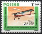Stamps : Europe : Poland :  WILGA, 1983.