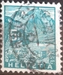 Stamps of the world : Switzerland :  Scott#220 intercambio, 0,20 usd, 5 cents. 1934