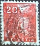 Sellos de Europa - Suiza -  Scott#223 intercambio, 0,45 usd, 20 cents. 1934
