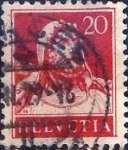 Stamps of the world : Switzerland :  Scott#176 intercambio, 0,20 usd, 20 cents. 1925