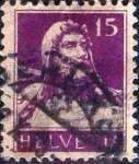 Stamps of the world : Switzerland :  Scott#172 intercambio, 0,20 usd, 15 cents. 1914