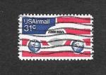Stamps United States -  C90 - Avión
