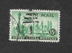 Stamps United States -  C35 - Vista de Nueva York