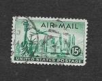 Stamps United States -  C35 - Vista de Nueva York