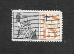 Stamps United States -  Monumento Americano