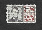 Stamps United States -  Monumento Americano