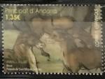 Sellos del Mundo : Europa : Andorra : Retablo Sant Miquel de Prats