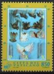 Stamps : Europe : Vatican_City :  PALOMAS  VOLANDO,  PINTURA  DE  PAOLO  GUIOTTO.