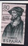 Stamps Spain -  RODRIGO DE BASI (32)