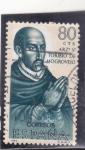 Stamps Spain -  ARZOBISPO TORIBIO DE MOGROVEJO (32)
