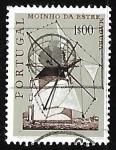 Sellos de Europa - Portugal -  Molinos de viento