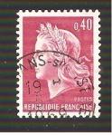 Sellos de Europa - Francia -  INTRCAMBIO