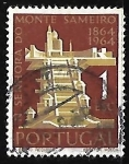 Sellos de Europa - Portugal -  Pilgrimage-Church Sameiro