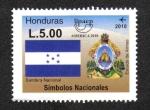 sello : America : Honduras : UPAEP 2010: Símbolos Nacionales