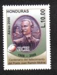 Sellos de America - Honduras -  Centenario del Fallecimiento del Poeta Juan Ramón Molina