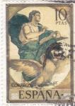 Stamps Spain -  EL EVANGELISTA S.JUAN -Rosales (32)