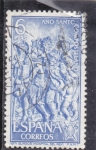 Stamps Spain -  BURGOS-HOSPITAL DEL REY (32)