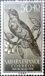 sellos de Europa - España -  Intercambio 0,25 usd 50 + 10 cent. 1958