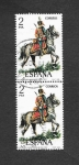 Stamps of the world : Spain :  Edf 2452 - Uniformes Militares