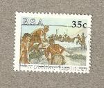 Sellos de Africa - Sudáfrica -  Desembarco
