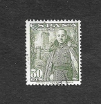 Stamps : Europe : Spain :  Edf 1025 - Francisco Franco Bahamonde