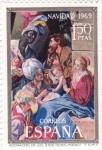 Sellos de Europa - España -  NAVIDAD-69 ADORACIÓN DE LOS REYES (32)